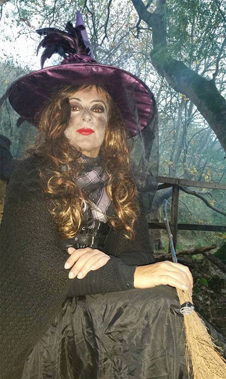 a witch in Tulgey Woods